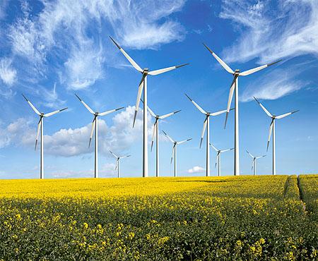 Energie im wind